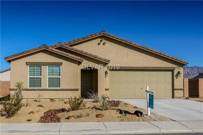 Pahrump NV Single Family Home For Sale: $224,900