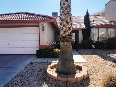 North Las Vegas Single Family Home For Sale: 3801 Red Coach Avenue
