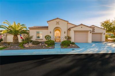 Las Vegas Single Family Home For Sale: 10415 Mezzanino Court