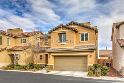 Las Vegas Single Family Home For Sale: 6980 Walden Park Street