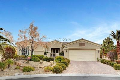 Las Vegas Single Family Home Under Contract - No Show: 10395 Brillare Avenue