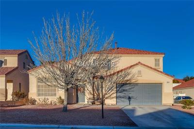 North Las Vegas Single Family Home For Sale: 6654 Montezuma Castle