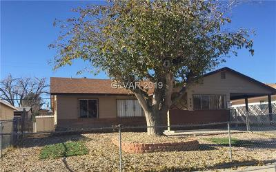 Las Vegas NV Single Family Home For Sale: $199,999