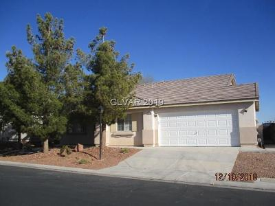 North Las Vegas Single Family Home For Sale: 3330 Lute Street