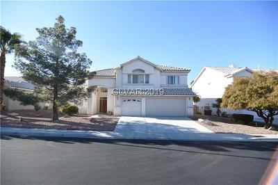 Henderson Single Family Home For Sale: 2644 Hourglass Drive