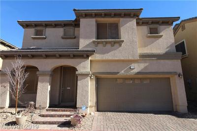 North Las Vegas Single Family Home For Sale: 3548 Faded Moon Court