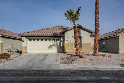 North Las Vegas Single Family Home Under Contract - Show: 3416 Conterra Park Avenue