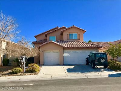 Las Vegas Single Family Home For Sale: 3212 Crescendo Street