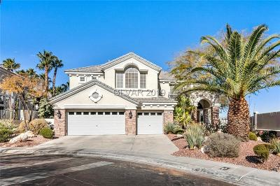 Las Vegas Single Family Home For Sale: 8800 Rozetta Court