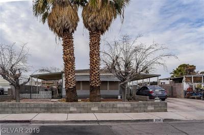 Las Vegas Manufactured Home For Sale: 3595 Huerta Drive