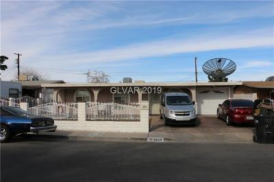 North Las Vegas Single Family Home For Auction: 1804 East Webb Avenue