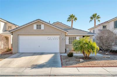 North Las Vegas Single Family Home Under Contract - No Show: 5914 Red Dawn Street