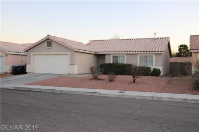 North Las Vegas Single Family Home For Sale: 113 Beaver Ridge Avenue