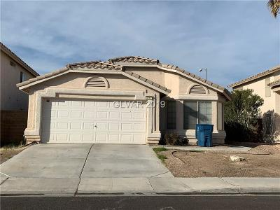 North Las Vegas Single Family Home Under Contract - No Show: 4517 Possum Berry Lane