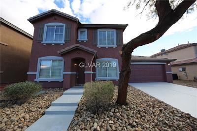 North Las Vegas Single Family Home For Sale: 5212 Ponderosa Heights Street