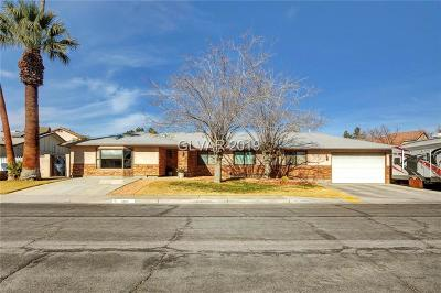Las Vegas Single Family Home For Sale: 5225 Renault Avenue