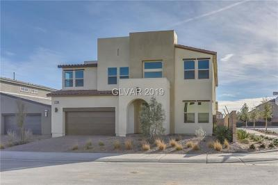NORTH LAS VEGAS Single Family Home For Sale: 1529 Dream Canyon