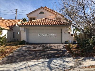Las Vegas Single Family Home For Sale: 4013 Compass Rose Way