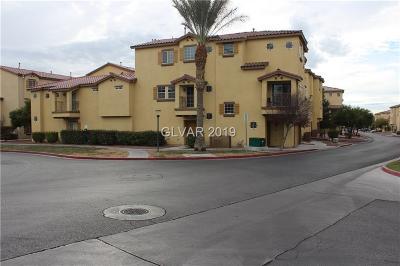 NORTH LAS VEGAS Condo/Townhouse For Sale: 5930 Barbosa Drive #LOT 7