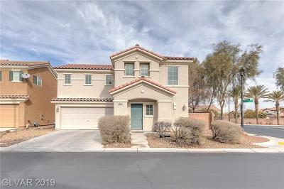 Boulder City, Henderson, Las Vegas, North Las Vegas Single Family Home For Sale: 590 Haunts Walk Avenue