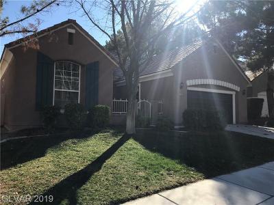 Las Vegas Single Family Home For Sale: 9833 Miss Peach Avenue