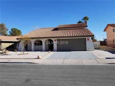 Las Vegas Single Family Home For Sale: 3830 Leisure Lane