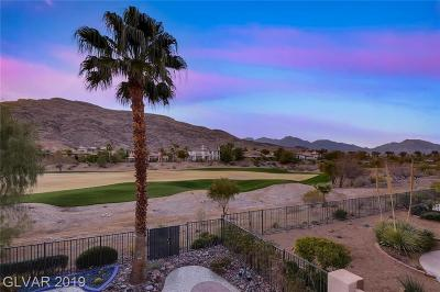 Las Vegas Single Family Home For Sale: 2695 Grassy Spring Place