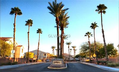 North Las Vegas Condo/Townhouse For Sale: 1881 West Alexander Road #1078