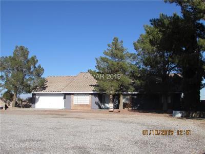 Las Vegas Single Family Home For Sale: 5765 Wigwam Avenue