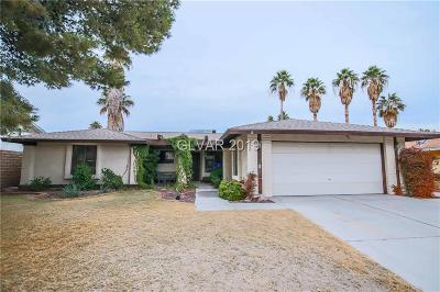 Henderson Single Family Home For Sale: 3139 La Mesa Drive