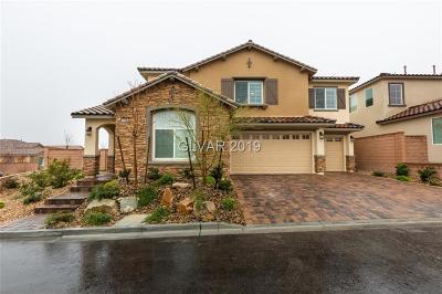 Las Vegas Single Family Home For Sale: 10823 Dreiser Park Avenue