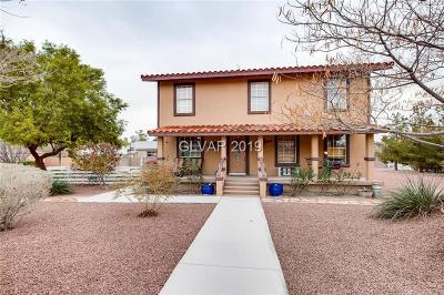 Las Vegas Single Family Home For Sale: 7701 Cowboy Trail