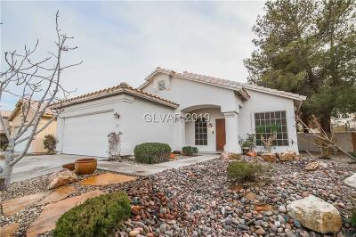 Las Vegas Single Family Home For Sale: 8417 Sea Glen Drive
