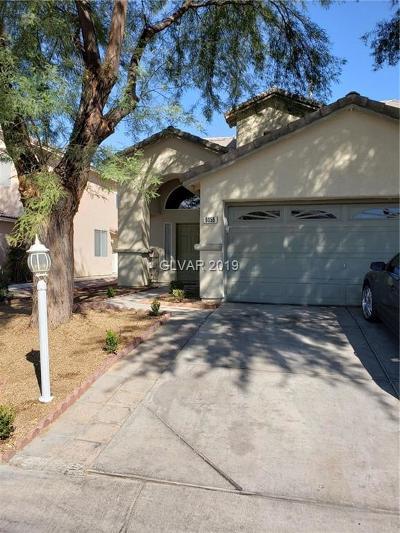 Las Vegas Single Family Home For Sale: 6056 Riflecrest Avenue