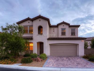 Las Vegas Single Family Home For Sale: 19 Crooked Putter Drive