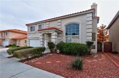 Las Vegas Single Family Home For Sale: 8777 Country View Avenue