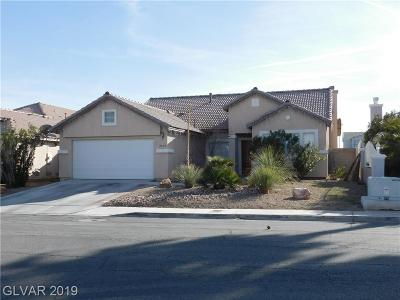 North Las Vegas Single Family Home For Sale: 2609 Lake Martin Court