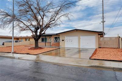Las Vegas Single Family Home For Sale: 204 Chason Street