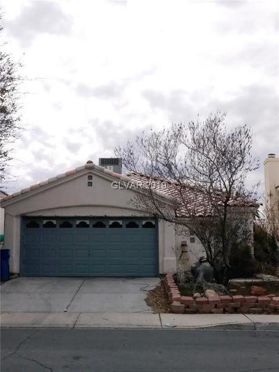 Las Vegas Single Family Home For Sale: 6067 Peach Blossom Lane