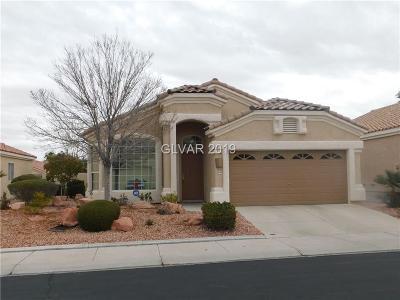 Las Vegas Single Family Home For Sale: 3520 Round Valley Way