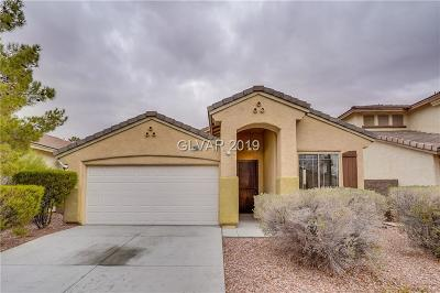 Las Vegas Single Family Home For Sale: 10824 Scamadella Street