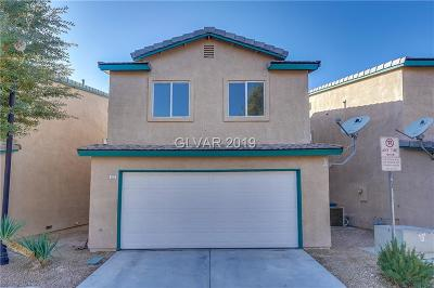 Las Vegas NV Single Family Home Under Contract - No Show: $231,000