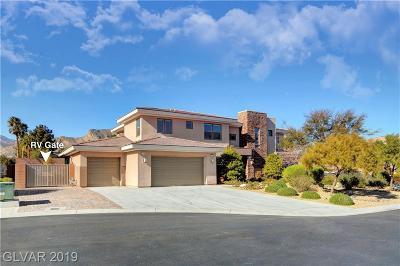 Las Vegas Single Family Home For Sale: 4039 Wild Eagle Circle