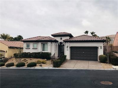 Las Vegas Single Family Home For Sale: 12280 Montura Rosa Place