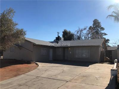 Las Vegas Single Family Home For Sale: 4013 Esmeralda Avenue