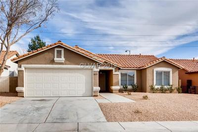 North Las Vegas Single Family Home For Sale: 5032 Vista Del Rancho Way