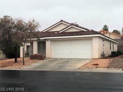 Las Vegas Single Family Home For Sale: 5525 Oakwood Ridge Street