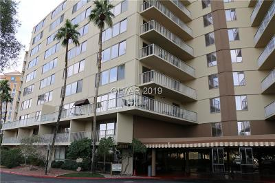 Clark County High Rise For Sale: 205 East Harmon Avenue #608