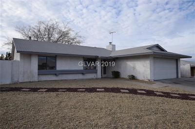 Las Vegas Single Family Home For Sale: 6891 Fallona Avenue