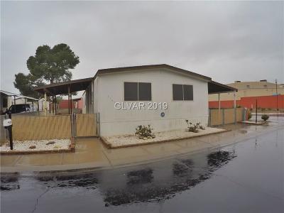 Las Vegas Manufactured Home For Sale: 3387 Big Sur Drive
